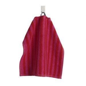 Marimekko Ujo Mini Pyyheliina Punainen / Vaaleanpunainen 25x25 Cm