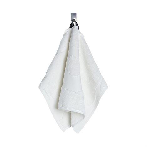 Marimekko Unikko Pinta Pyyheliina Valkoinen Vieraspyyhe 30x50 cm