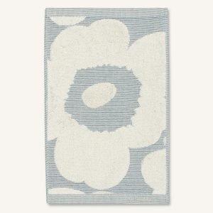 Marimekko Unikko Vieraspyyhe Off White / Sininen 30x50 Cm
