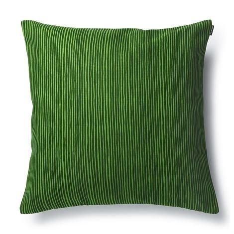 Marimekko Varvunraita Tyynynpäällinen Vihreä-Tummanvihreä