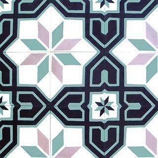 Marokkolainen Sementtilaatta 20420