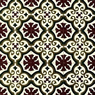 Marokkolainen Sementtilaatta 20458