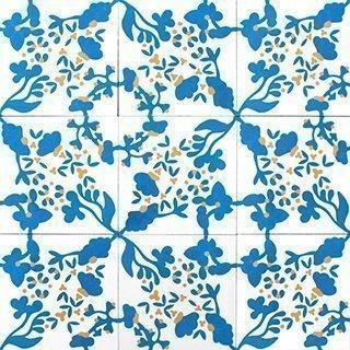 Marokkolainen Sementtilaatta 20736