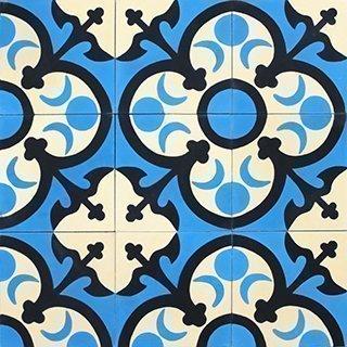 Marokkolainen Sementtilaatta 21048