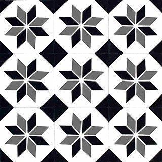 Marokkolainen Sementtilaatta 21082