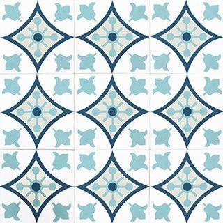 Marokkolainen Sementtilaatta 21356