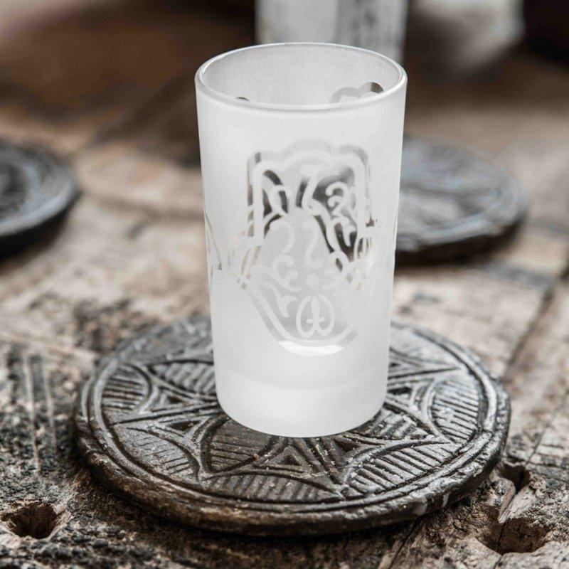 Marokkolaiset Teelasit Fatima Valkoinen 2 Kpl