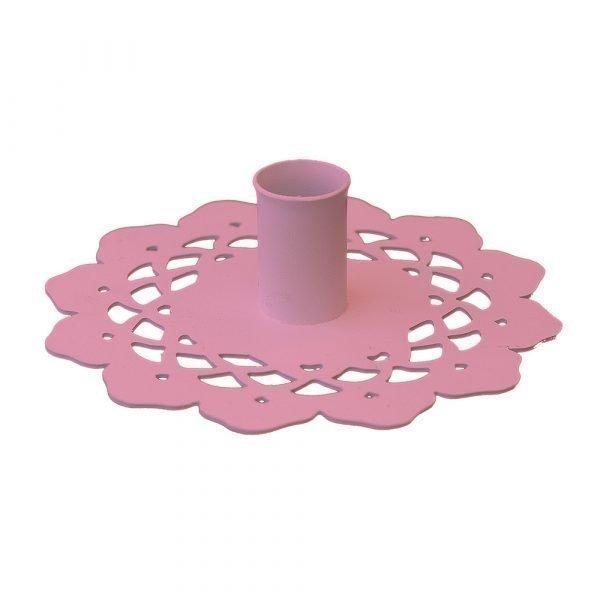 Maze Grandma Small Kynttilänjalka Vaaleanpunainen