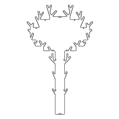 Maze Tree Naulakko Musta