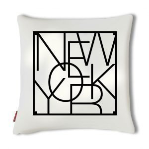 Men At Work City Cushion Tyynynpäällinen New York