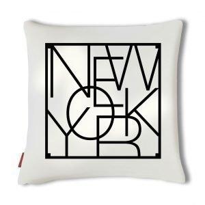 Men At Work City Cushion Tyynynpäällinen New York