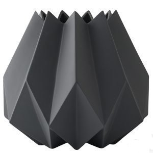 Menu Folded Korkea Vaasi Carbon