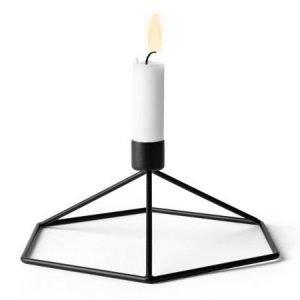 Menu POV-kynttilänjalka musta
