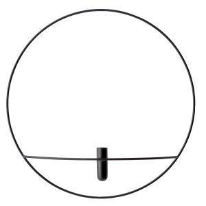 Menu Pov Circle Maljakko L Musta