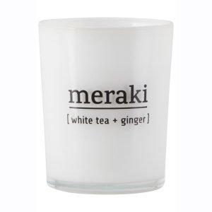 Meraki Tuoksukynttilä M White Tea / Ginger