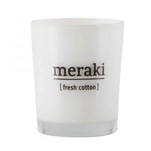 Meraki Tuoksukynttilä S Fresh Cotton