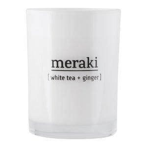 Meraki Tuoksukynttilä S White Tea / Ginger