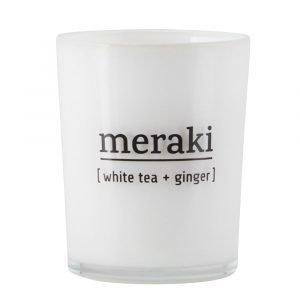 Meraki Tuoksukynttilä S White Tea & Ginger