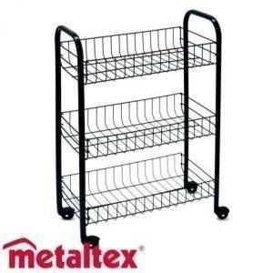 Metaltex Siena Korivaunu Musta