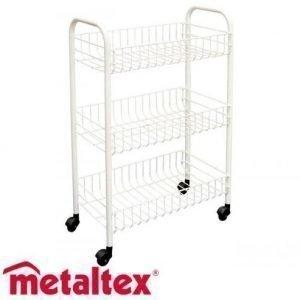 Metaltex Siena Korivaunu Valkoinen