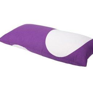 Mette Ditmer Cosmos-tyynynpäällinen 35 x 70 cm violettivalkoinen