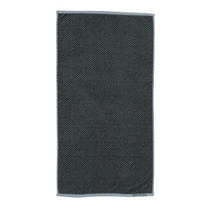 Mette Ditmer Diagonal Pyyheliina Tummanvihreä 50x95 Cm