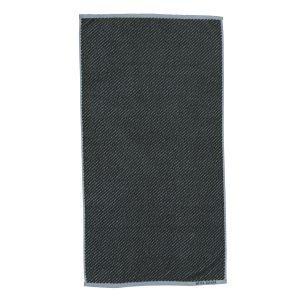Mette Ditmer Diagonal Pyyheliina Tummanvihreä 70x135 Cm