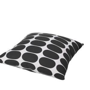 Mette Ditmer Ellipse-tyynynpäällinen 45 x 45 cm harmaavalkoinen