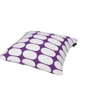 Mette Ditmer Ellipse-tyynynpäällinen 45 x 45 cm violettivalkoinen