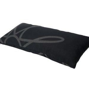 Mette Ditmer Mega-tyynynpäällinen 35 x 70 cm mustaharmaa