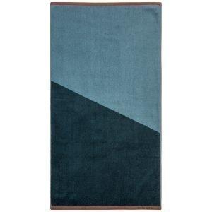 Mette Ditmer Shades Pyyheliina Tummansininen 50x95 Cm