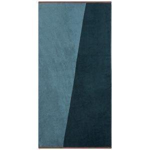 Mette Ditmer Shades Pyyheliina Tummansininen 70x140 Cm