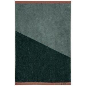 Mette Ditmer Shades Pyyheliina Tummanvihreä 38x55 Cm