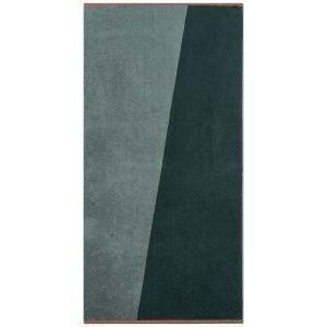 Mette Ditmer Shades Pyyheliina Tummanvihreä 70x140 Cm