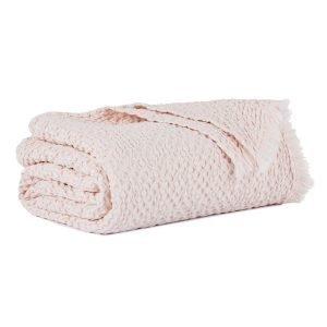 Mille Notti Mare Huopa Vaaleanpunainen 150x220 Cm
