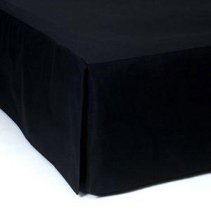 Mille Notti Napoli Helmalakana Musta 90x220x52 Cm
