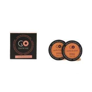 Millefiori Go Vanilla & Wood Täyttöpakkaus Ilmanraikastimeen