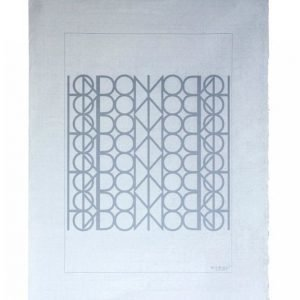 Mimou Käsinpainettu London Mood Juliste 50x70 Cm