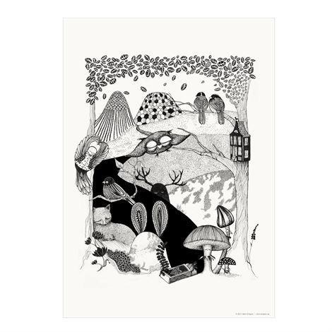 Mini Empire Deep Woods Juliste 50 x 70 cm