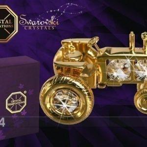Mo Koriste Kullatuilla Swarovski Kristalleilla Traktori