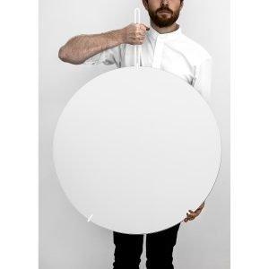 Moebe Wall Mirror Peili L Valkea