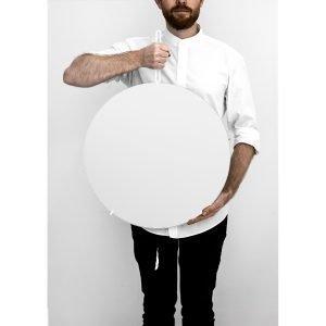 Moebe Wall Mirror Peili M Valkea