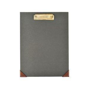 Monograph Clipboard Kirjoitusalusta Tummanharmaa