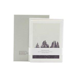 Monograph Note Kortti Winter 8 Kpl