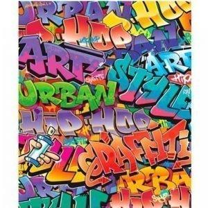 Motivtapet Graffiti 2 M Kuvatapetti