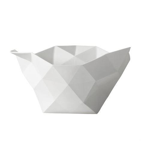 Muuto Crushed-Kulhot Pieni Valkoinen