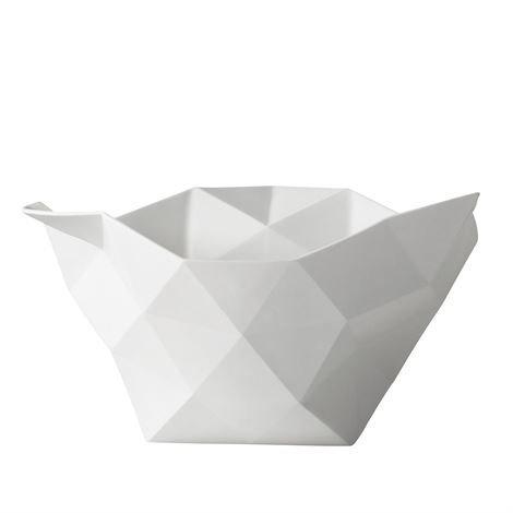 Muuto Crushed-Kulhot Suuri Valkoinen