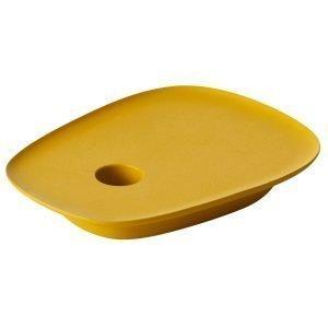 Muuto Float Kynttilänjalka Keltainen