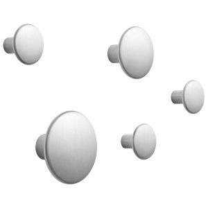 Muuto The Dots Metal Ripustin 5 Pack Alumiini