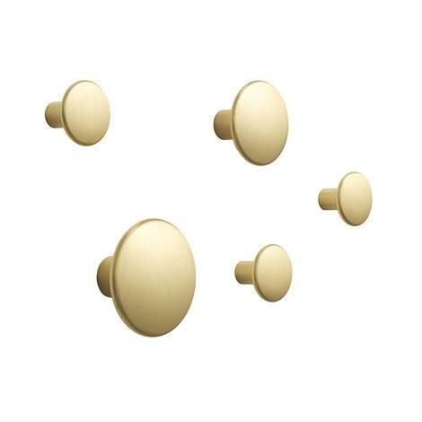 Muuto The Dots Ripustin Metalli 5 kpl Messinki